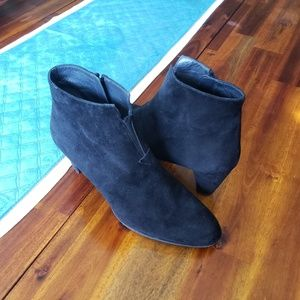 Boot, Suede, Black
